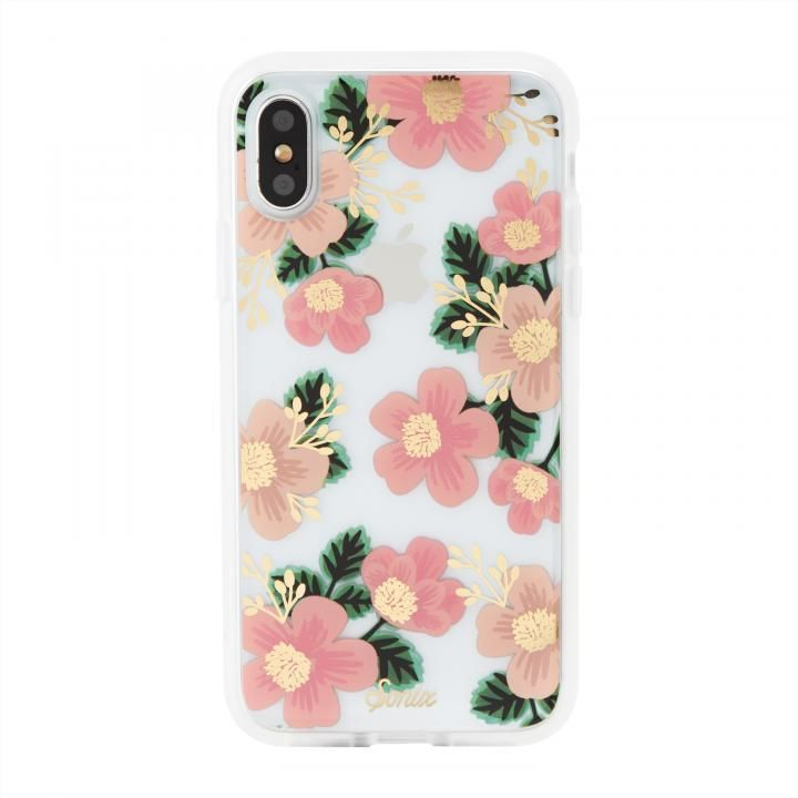 iPhone XS/X ケース Sonix CLEAR COAT 背面ケース SOUTHERN FLORAL iPhone XS/X【6月下旬】_0