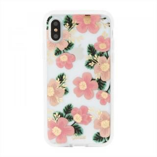 iPhone XS/X ケース Sonix CLEAR COAT 背面ケース SOUTHERN FLORAL iPhone XS/X【9月下旬】