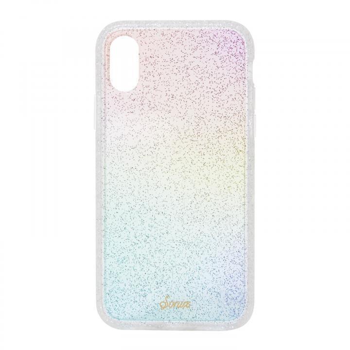 iPhone XR ケース Sonix CLEAR COAT 背面ケース RAINBOW GLITTER iPhone XR【7月中旬】_0