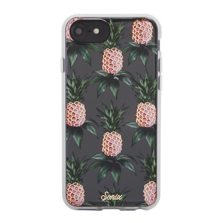 iPhone8/7 ケース Sonix CLEAR COAT 背面ケース PINK PINEAPPLE iPhone 8/7_0