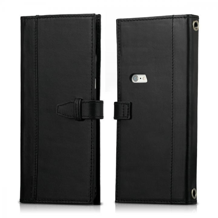 Completewallet リアルレザー手帳型ケース  ブラック iPhone 6s/6