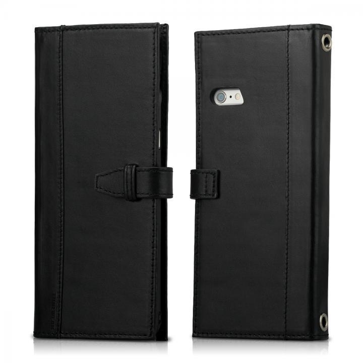 Completewallet リアルレザー手帳型ケース  ブラック iPhone 6s Plus/6 Plus