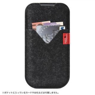 iPhone6s Plus/6 Plus ケース ウールフェルト製スリーブポケットケース ブラック iPhone 6s Plus/6 Plus