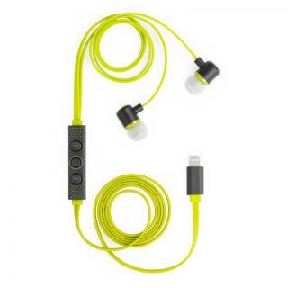 [新iPhone記念特価]ハイレゾ対応 Lightning接続イヤホン IC-Earphone グリーン【9月下旬】