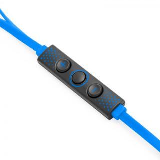 ハイレゾ対応 Lightning接続イヤホン IC-Earphone ブルー_3