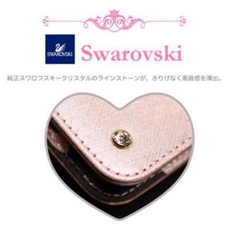【iPhone6ケース】Heart Letter 手帳型PUレザーケース パステルピンク/ホワイト iPhone 6_7