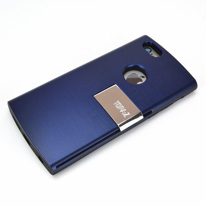 【iPhone6ケース】魅せる輝き TOPA:Z ケース ネイビー iPhone 6_0