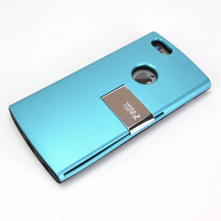 魅せる輝き TOPA:Z ケース ブルー iPhone 6