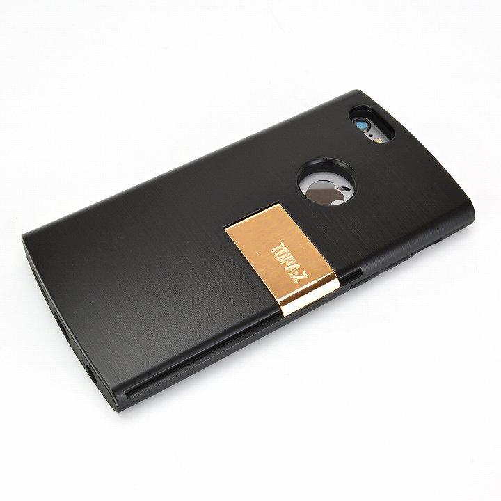 【iPhone6ケース】魅せる輝き TOPA:Z ケース ブラック iPhone 6_0