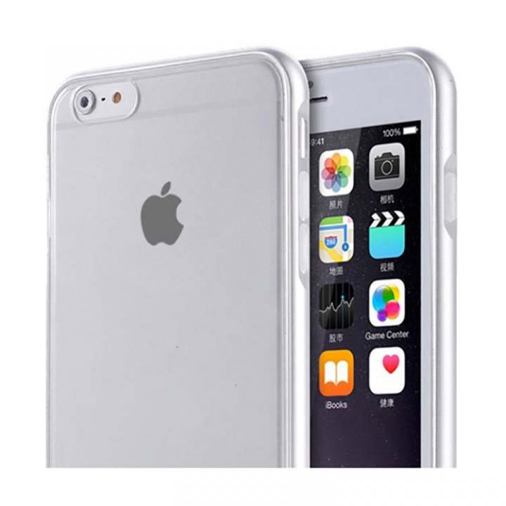 iPhone6s Plus/6 Plus ケース REAL SHIELD 合金バンパー/TPUケース メタルシルバー iPhone 6s Plus/6 Plus_0