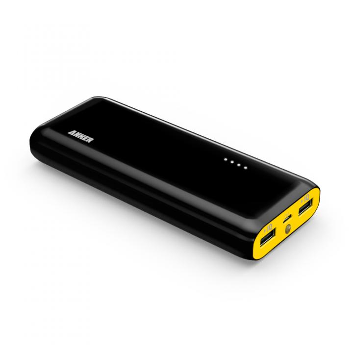 [AppBank限定][13000mAh]Anker Astro E4 第2世代 モバイルバッテリー ブラックイエロー_0