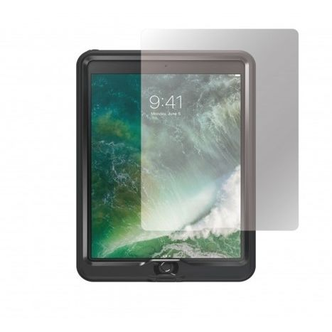 LIFEPROOF nuud 専用モデル ラウンドエッジ強化ガラス+LIFEPROOF nuud 防水ケース ブラック iPad Pro 10.5_0