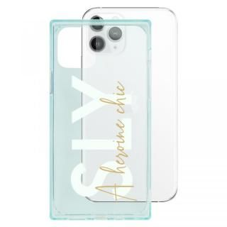 iPhone 11 Pro ケース SLY セミクリアケース A heroine chic light green iPhone 11 Pro