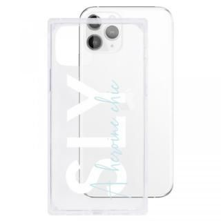 iPhone 11 Pro ケース SLY セミクリアケース A heroine chic clear iPhone 11 Pro