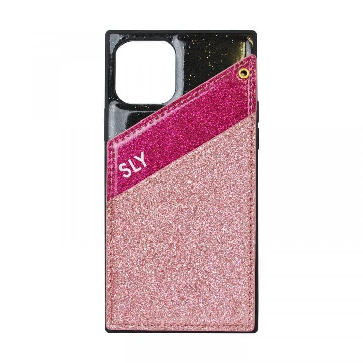 iPhone 11 Pro ケース SLY ラメマグネット iPhone 11 Pro ピンク_0