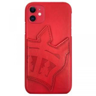 iPhone 11 ケース RODEOCROWNS 背面ケース ビッグクラウンミラー レッド iPhone 11