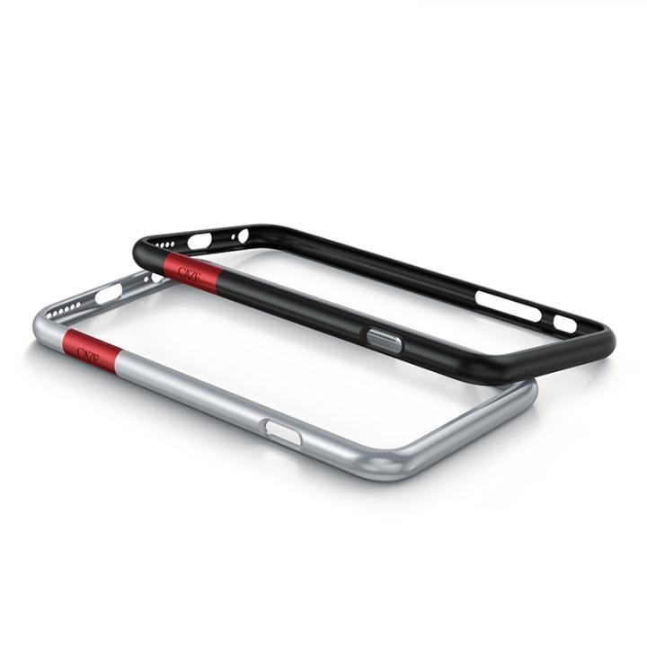 iPhone6s/6 ケース 最薄1mmバンパー CAZE ThinEdge  マットシルバー iPhone 6s/6_0