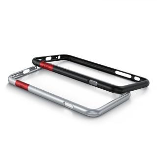 最薄1mmバンパー CAZE ThinEdge  マットシルバー iPhone 6s/6【11月上旬】