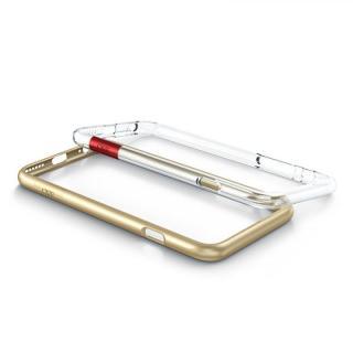【iPhone6s/6ケース】最薄1mmバンパー CAZE ThinEdge  ゴールド iPhone 6s/6