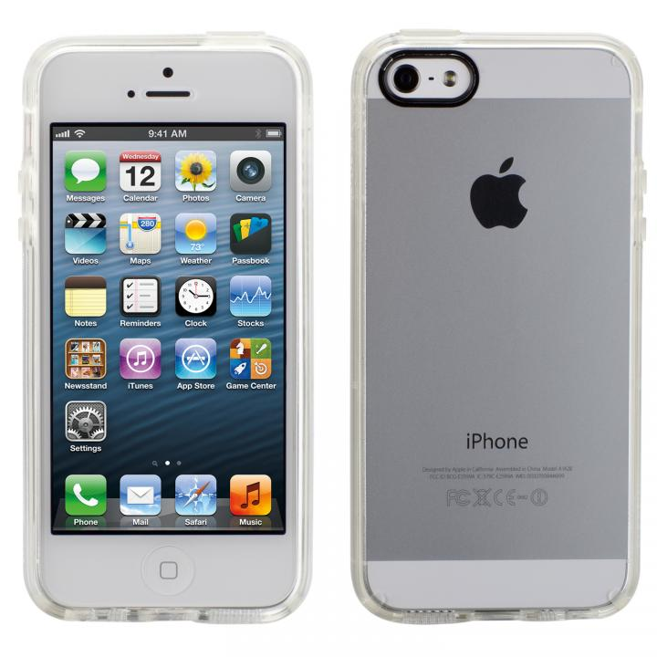 【iPhone SE/5s/5ケース】iPhone SE/5s/5 GemShell- Clear_0