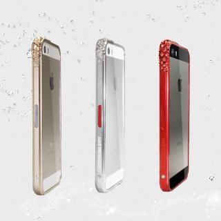 レッドアラートウィズスワロフスキー iPhone5s/5