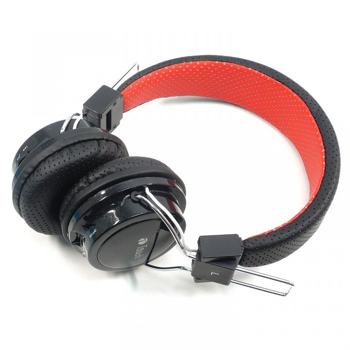 MP3再生機能付き Bluetooth ヘッドホン ブラック_0