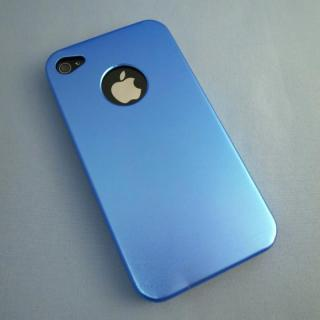 iPhone4s/4 メタルケース Water Blue