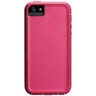 タフ・エクストリーム ケース ピンク/フレイムレッド iPhone SE/5s/5ケース