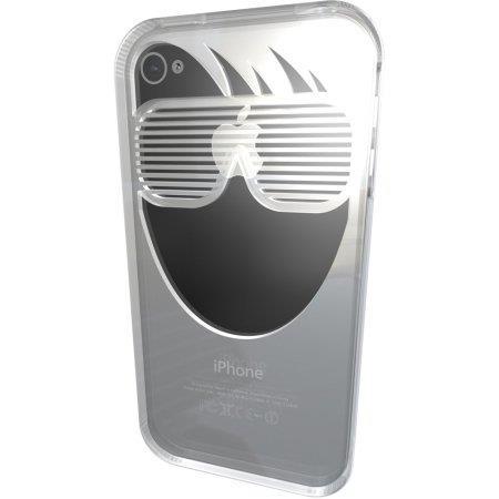 iPhone4s/4ケース RockSTAR Clear