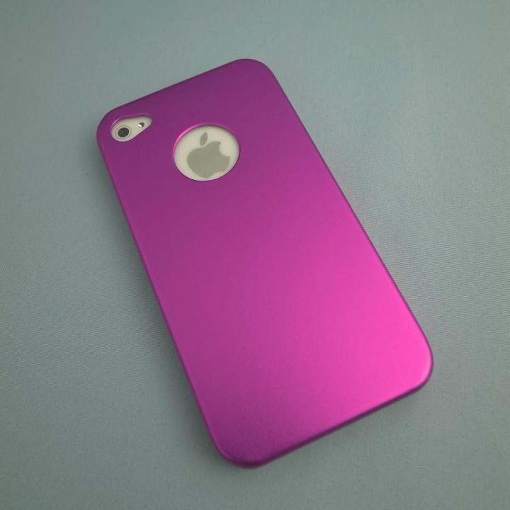 iPhone4s/4 メタルケース Pink