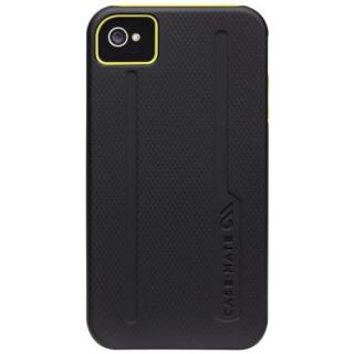 iPhone4s/4ケース Hybrid Tough Black / Yellow