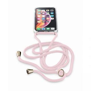 iPhone XS/X ケース Cellularline ネックストラップ付きケース ピンク iPhone XS/X