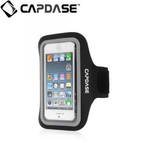 【iPhone SE/5s/5ケース】CAPDASE スポーツ アームバンド ゾニック プラス iPhone 5c/5s/5 Black_0