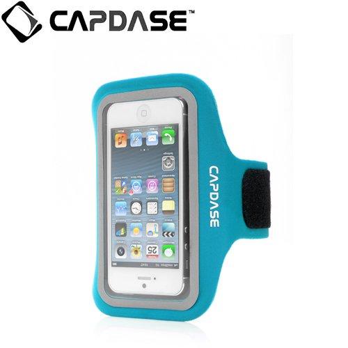 【iPhone SE/5s/5ケース】CAPDASE スポーツ アームバンド ゾニック プラス iPhone 5c/5s/5 Blue_0
