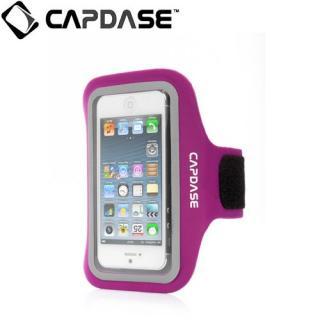 CAPDASE スポーツ アームバンド ゾニック プラス iPhone 5c/5s/5 Fuchsia