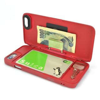 iCash ICカード対応ケース レッド iPhone 6