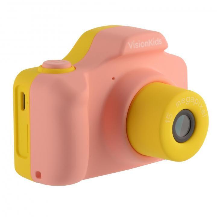 VisionKids HappiCAMU デジタルカメラ ピンク_0
