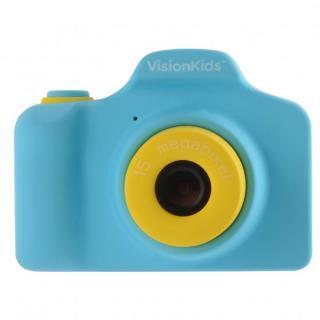 VisionKids HappiCAMU デジタルカメラ ブルー