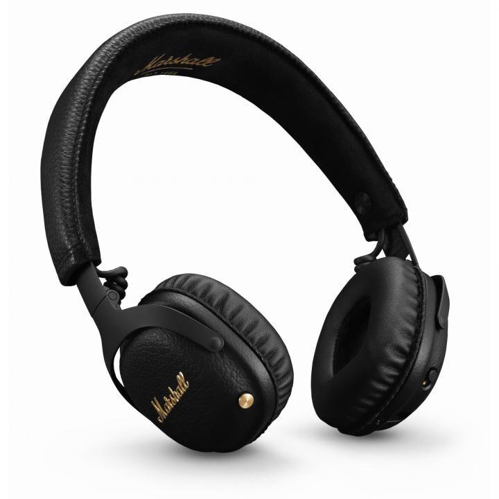 Marshall Mid ANC Bluetooth ワイヤレスヘッドホン ブラック_0