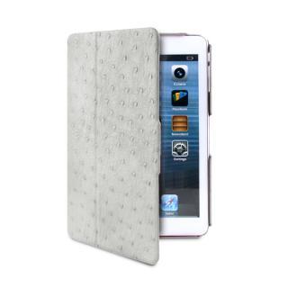 iPad mini/2/3ケース NANDU Magnet stand up エコレザー ホワイト
