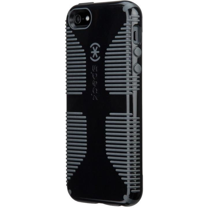 iPhone SE/5s/5 ケース iPhone SE/5s/5 CandyShell Grip Black/Slate_0
