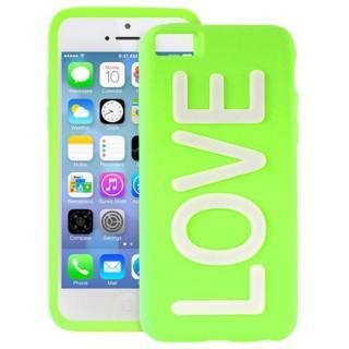 iPhone 5c NIGHT GLOW COVER LOVE GREEN