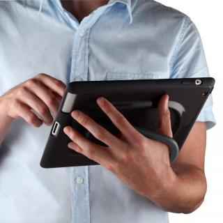 iPad(第2-4世代) gen HandyShell Black/Dark Grey_2
