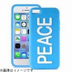 iPhone 5c NIGHT GLOW COVER PEACE BLUE_0