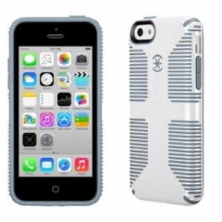 iPhone 5c CandyShell Grip White/Gravel Grey