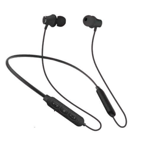 『いい音』Bluetoothワイヤレスイヤホンwithネックバンド ブラック_0