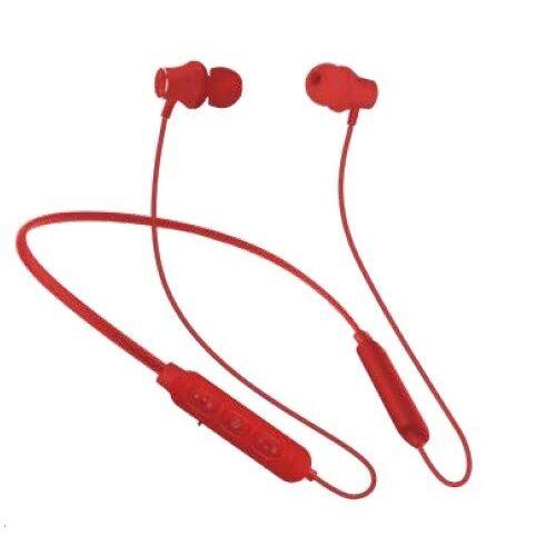 『いい音』Bluetoothワイヤレスイヤホンwithネックバンド レッド【1月下旬】_0