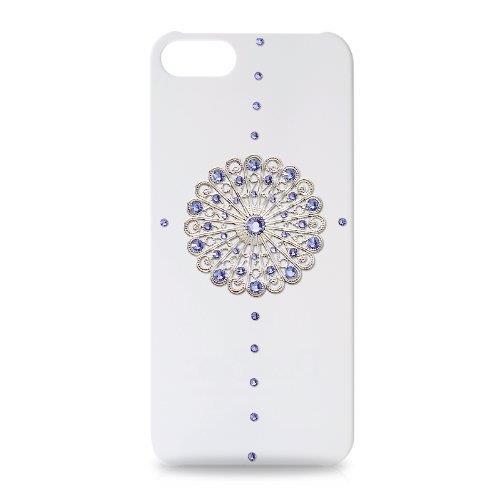 【iPhone SE/5s/5ケース】iPhone SE/5s/5 スワロフスキー ロゾーネクリスタルケース_0