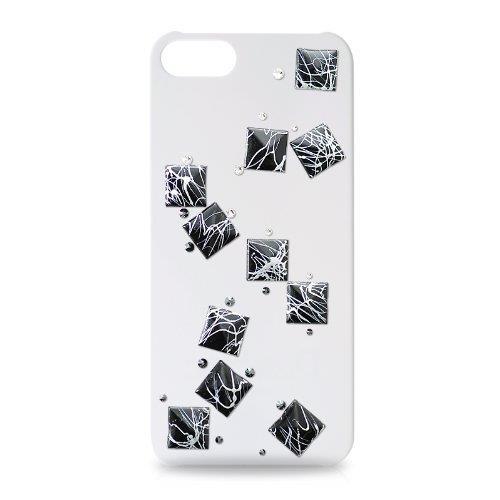 iPhone SE/5s/5 ケース iPhone SE/5s/5 スワロフスキー セラミックスクリスタルケース_0