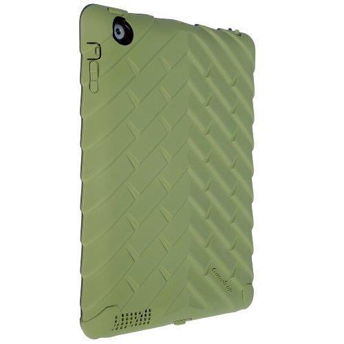 Gumdrop Drop Tech Series iPad(第2-4世代)ケース アーミーグリーン